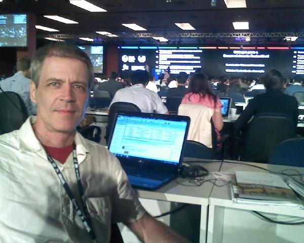 Luis Felipe Cesar, periodista, especialista en gestión ambiental, director de la ONG Crescente Fértil