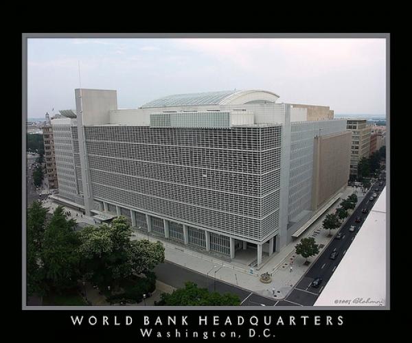 Sede central del Banco Mundial en Washington D.C., Estados Unidos